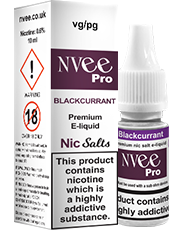 Buy Blackcurrant NVee Pro e-liquids