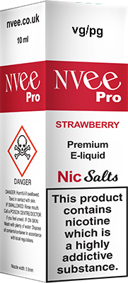 Buy Strawberry NVee Pro e-liquids